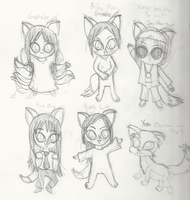 What Does The Fox Say? (Korean version) Sketches by Bokeol