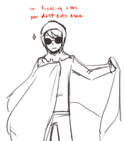 That fucking cape by davesexual