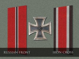 OST Front and Iron Cross by Xtragicfever