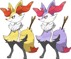 Braixen by KrocF4