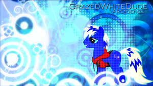 REQUEST: OC Pony Arcadence Wallpaper by EnemyD