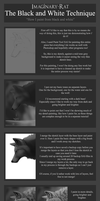 The Black and White Technique - Tutorial by Imaginary-Rat