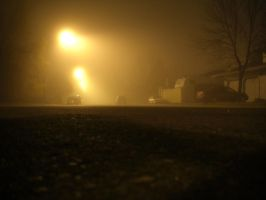 Foggy Night by BlueFlame74