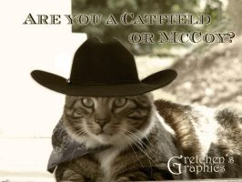 Catfield or McCoy? by DigitalDoodleDesigns