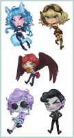Chibi Com. Batch 2 by SunnyCove