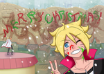 Merry Christmas 2015 - Boruto by samanthacannon