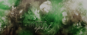 Breaking apart (signature - Chall N1902) by ImWanderer
