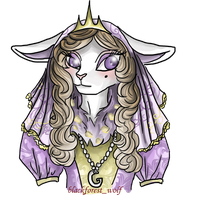 Neopets Request: Gynelia the Royal Girl Cybunny by Blesses