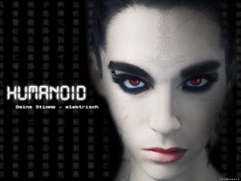 Bill Kaulitz HUMANOID by manoulol