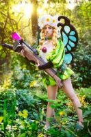 May the land bless us in the name of the Fairies! by LilyBatCosplay