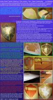 Hylian Shield Tutorial, Ocarina of Time version by Wilkowen
