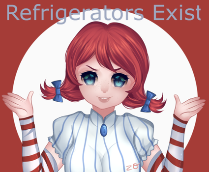Smug Wendy by Zombie-Orchid