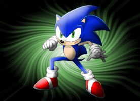 Sonic the Hedgehog by SoiFon-FanGirl