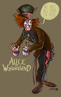 mad hatter by Billy Martin by JoelAmatGuell