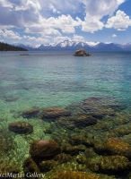 Incoming clouds Lake Tahoe by MartinGollery