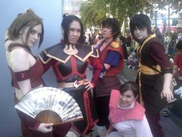 Anime Expo 2011: ATLA by FatalCosplays