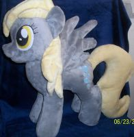 Derpy Hooves Plush for SALE!! by SiamchuchusPlushies