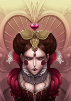 Queen of Hearts by kewminus