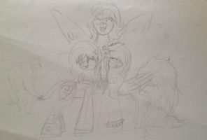 Iggles, a pone, and a god by CassieSparkles