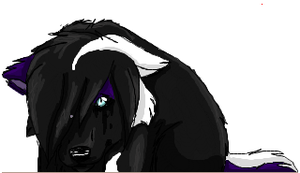 Angel WOLFEH - Iscribble by Ravenstar01