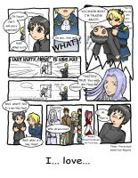 Kyou Kara Maou Comic Page One by Ill-wovenElm