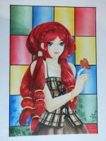 Zhara red hair by LucyMeryChan