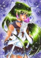 Sailor Pluto by OoOoPitchBlackOoOo