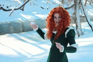 Firstborn of clan DunBroch 3 by EvieE-Cosplay