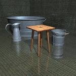 Bath and Wash Day - 3d Objects by xmas-kitty