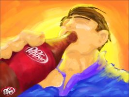 Dr Pepper And Me by MaQuintus