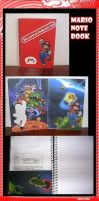 Mario Notebook by Tiffyx