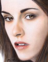 kristen stewart drawing by LivieSukma