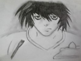 L death note by thegeek24