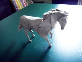 Horse - Origami by mitanei