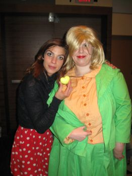 Patty meets Natalia Tena by MaryRyanBogard