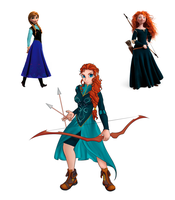 Anna-Merida-Triangle by Danifox