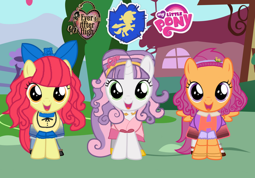Meet The Cutie Fairy Tale Crusaders! by ThunderFists1988