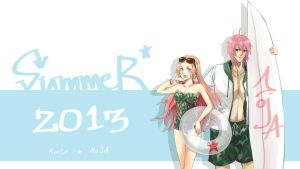 AT_SUMMER 2013_with RinTR by MOJA-Ron
