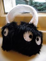 Soot Sprite Earmuffs by Bee-Delicious