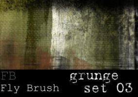 Fly Brush- Grunge set 3 by FlyBrush