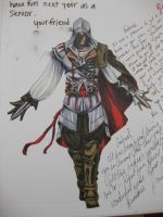 Assassin's Creed yearbook by Darkus04