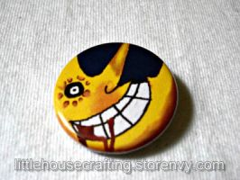 Soul Eater Moon 1.25 inch Pinback Button by LittleHouseCrafting