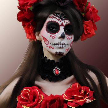 Sugar Skull by Wild-Theory