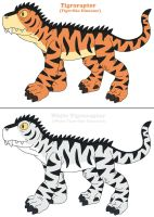 Tigroraptor for Tigerbreath13 by MCsaurus