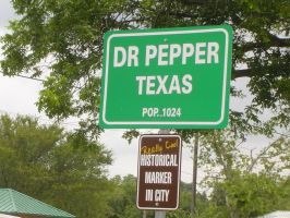 Welcome to Dr Pepper, Texas by mypunkishways