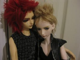 BJD - Axel and Demyx 2 by ForeverFrabjous