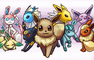 Eeveelution by Pew-PewStudio