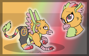 Gift: Tropical Feather by FaithLeafCat