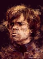 Tyrion Lannister by ladynlmda