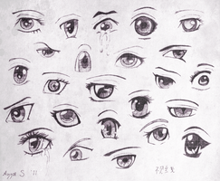 Eye study by FanatikerFrau
